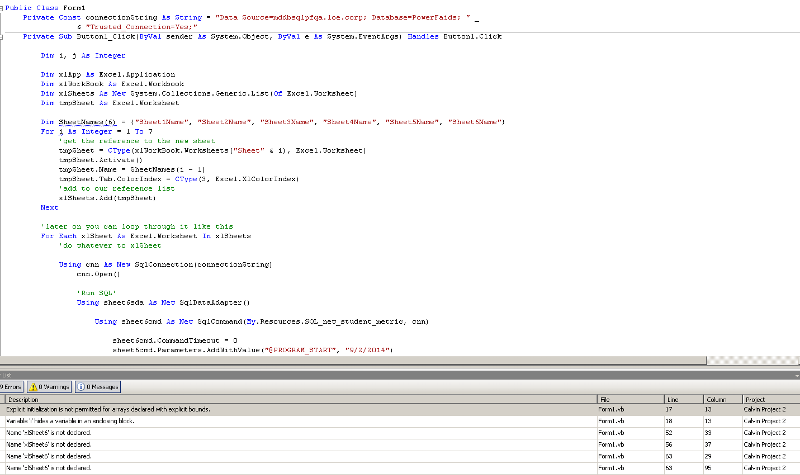 code error picture
