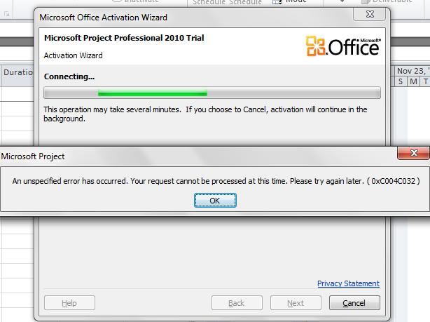 office 2010 activation registry key