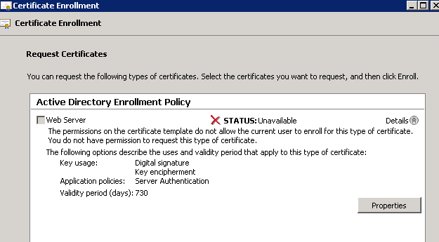 Sbs2011 sites certificate expiring renewal error yelopaper Choice Image