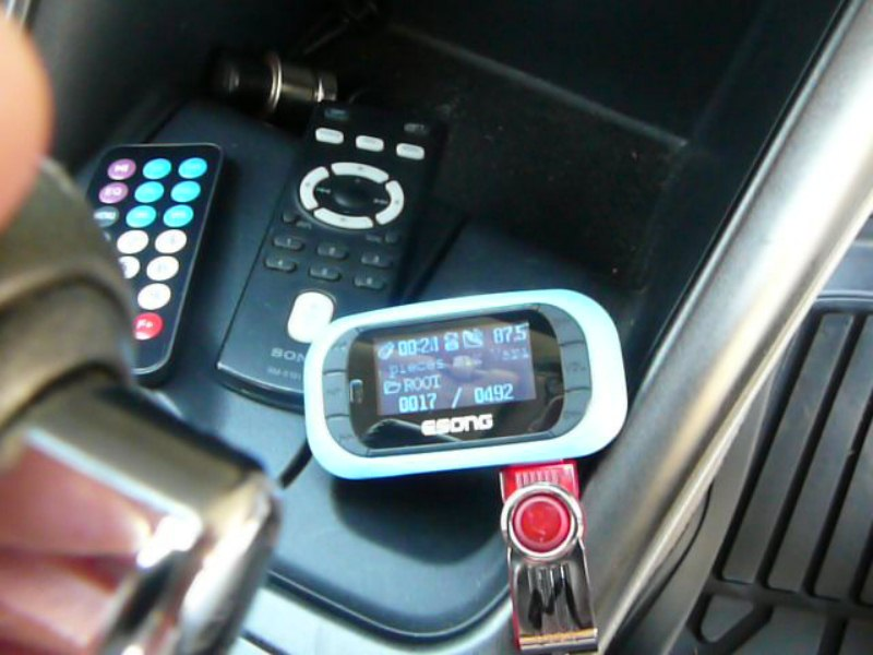 FM mp3 player