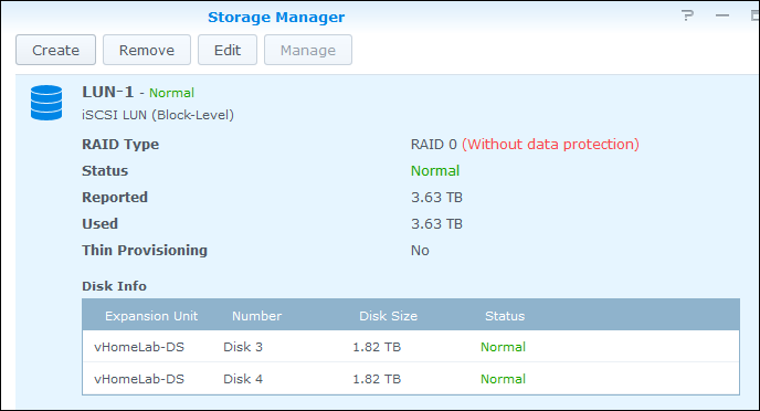 vmware cloning and Synology CPU I/O Wait