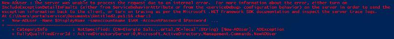 screen of ps error