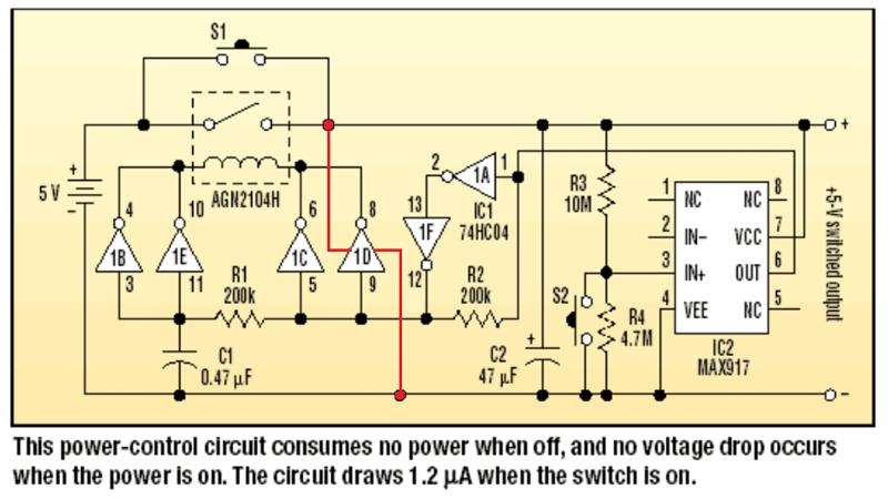 Low voltage disconnect-circuit