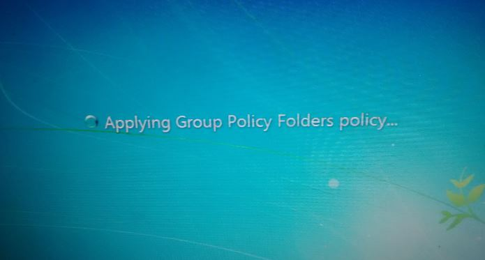 Applying Group Policy Folders Policy