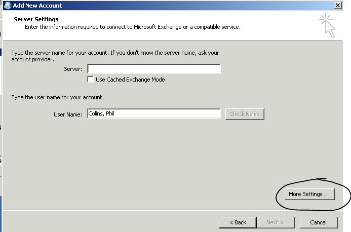 How to manually configure Outlook (2010 or 2013) to connect