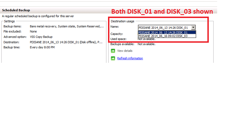 File Server with Backup working correctly