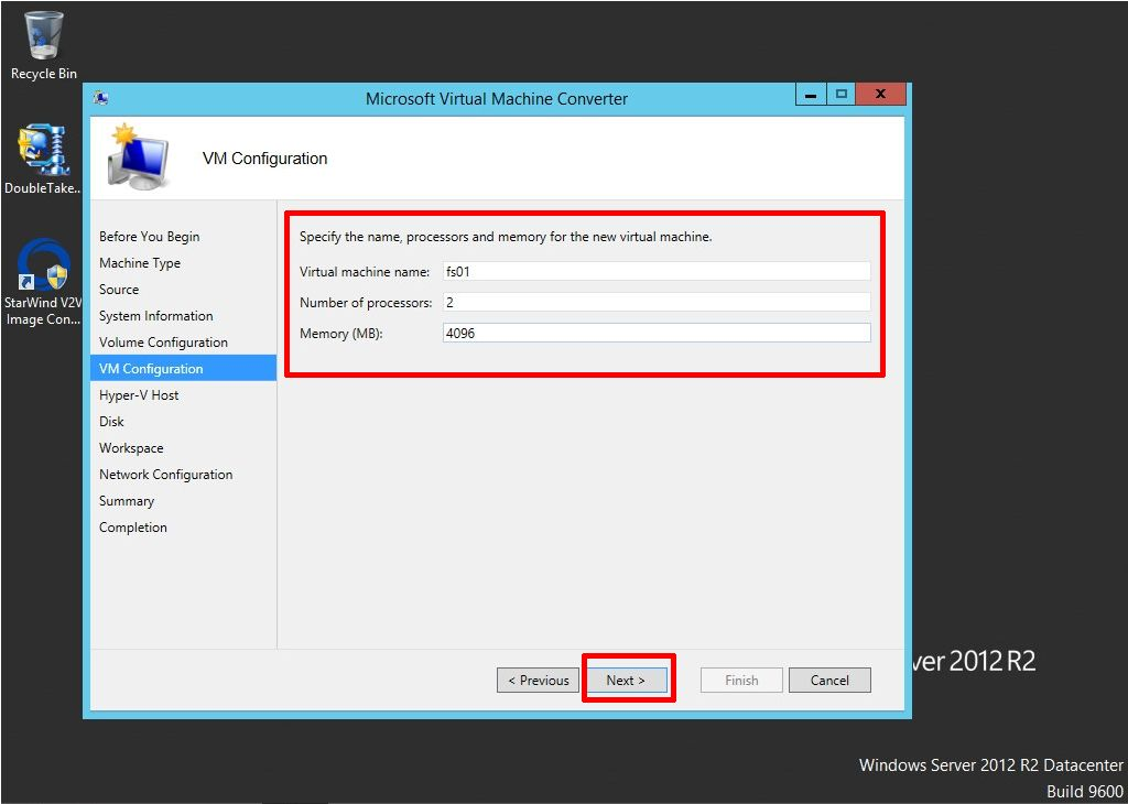 HOW TO: Convert a physical server or virtual server (P2V/V2V) to
