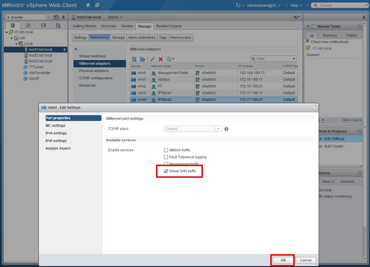 HOW TO: Set up a lab environment for vSAN using VMware