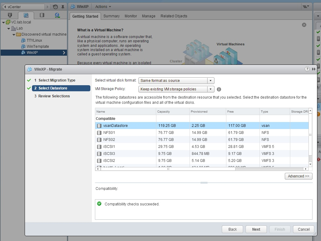HOW TO: Set up a lab environment for vSAN using VMware Workstation