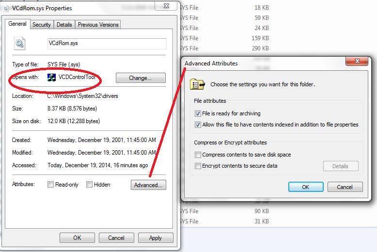 vcdcontroltool exe windows 7