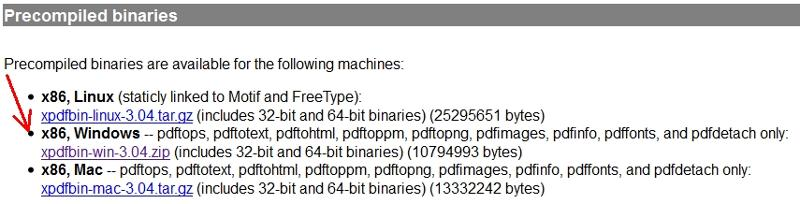 precompiled binaries