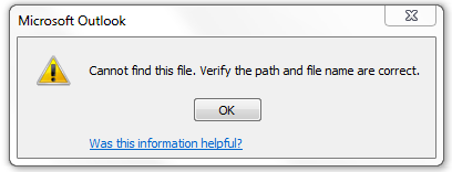 OST file copy error