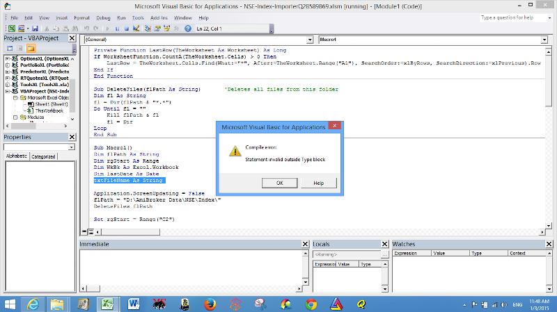 i got this error meassage.