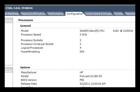 ESXi Config-Processors