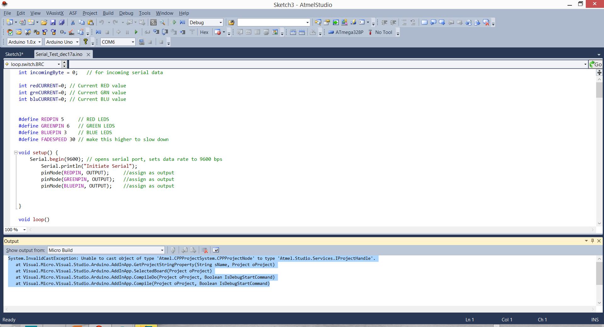 Atmel Studio 6 / Visual Micro Arduino Extension