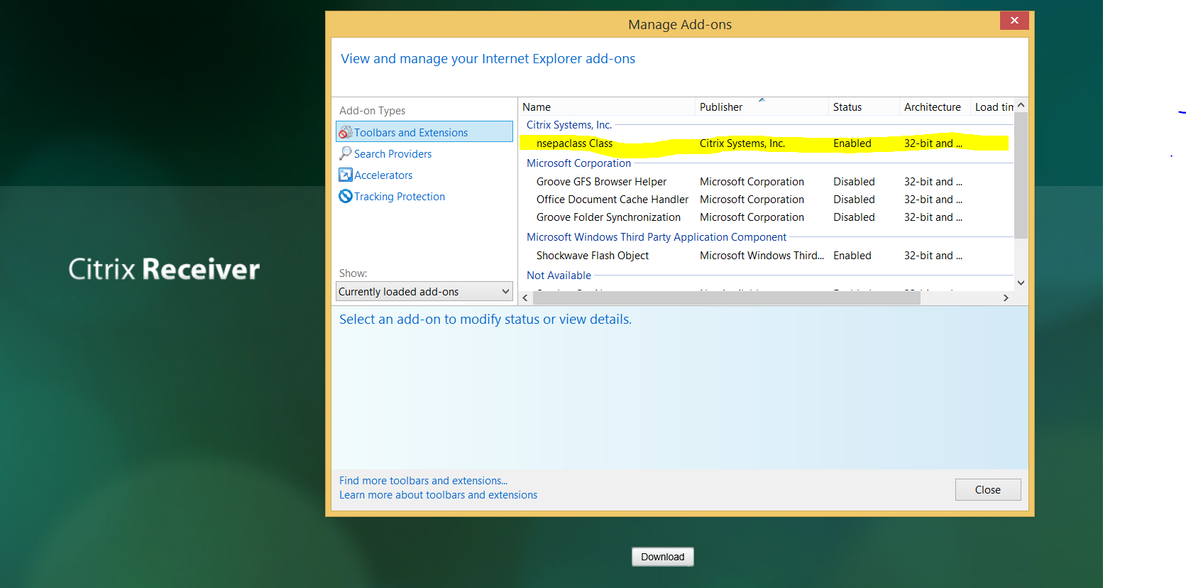 Citrix Netscaler Endpoint Analysis Plug-in