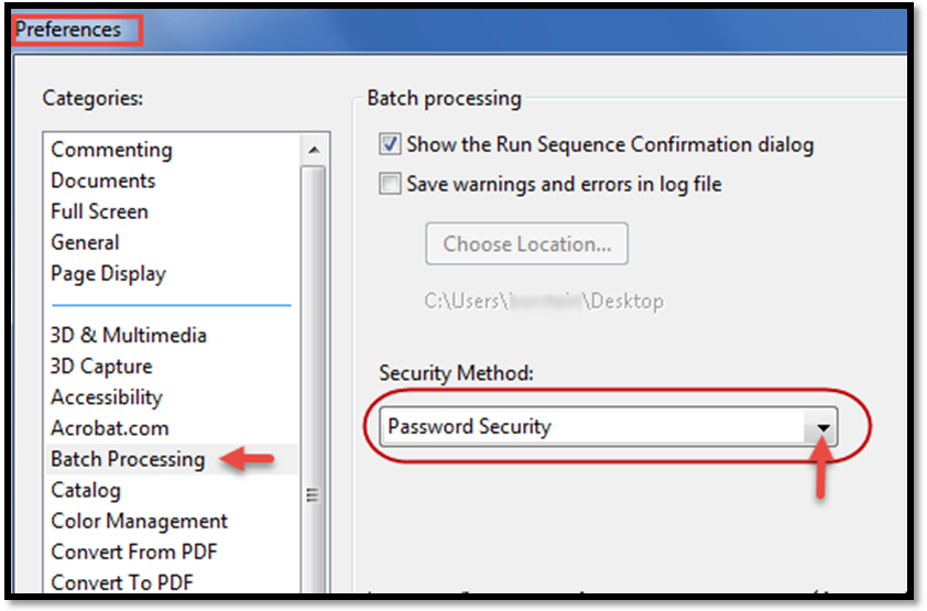 Remove Password Security from Multiple PDF Files by Adobe