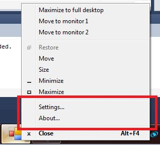 Holding Shift Right-Click in Windows 7.