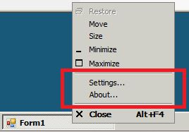 Right-clicking on the windows taskbar of a Windows Server 2008 [Non-R2].