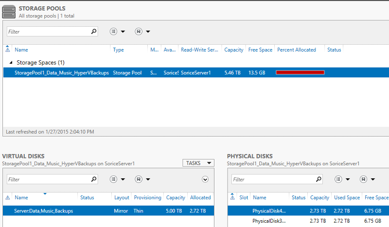 StoragePoolScreenshot