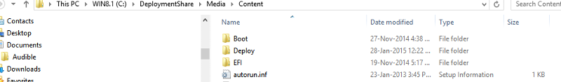 copy the contents of the content folder to your usb stick