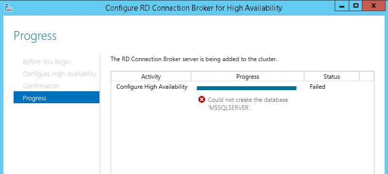 Configure RD