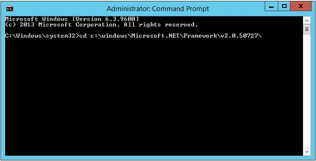 Tip: As you are typing in the command, if you hit tab, the command processor will attempt to automatically resolve a portion of the path.