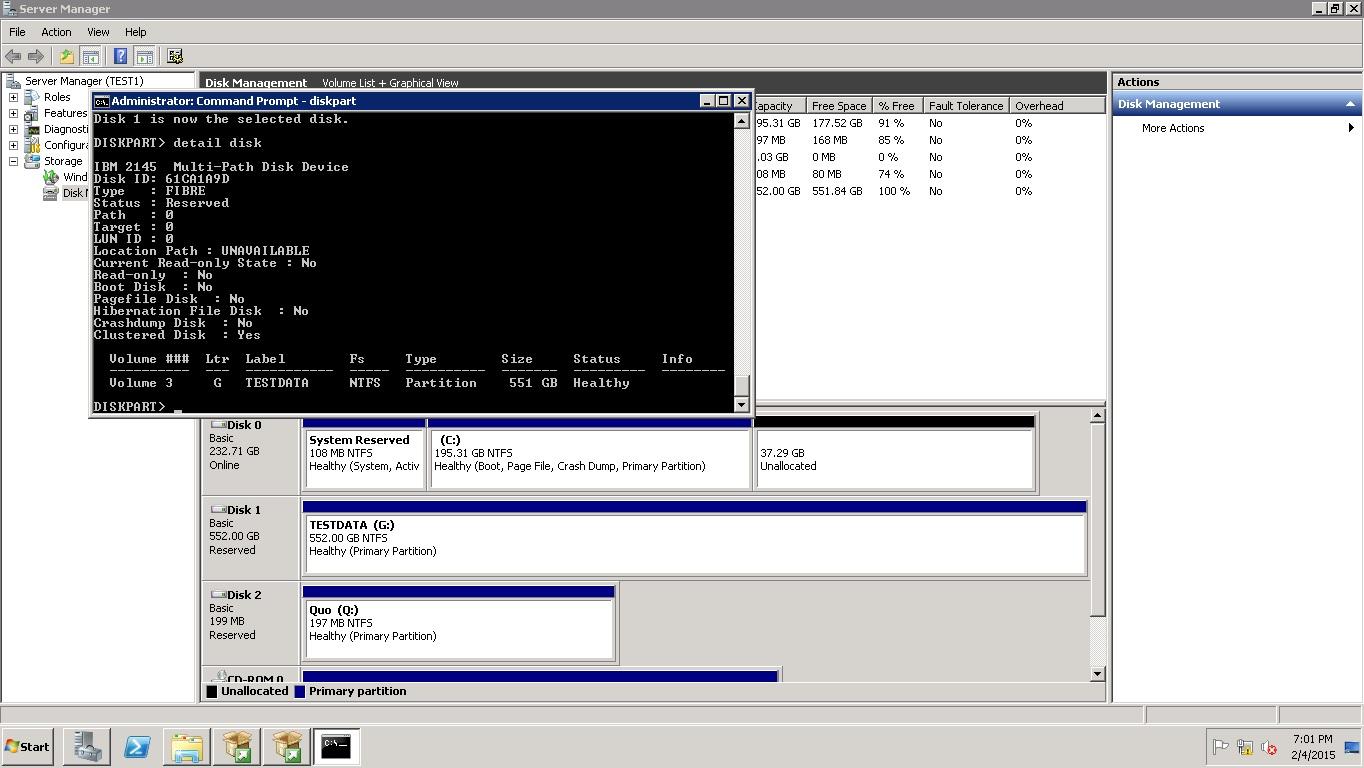 Disk Image Error 199