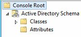Expand the Active Directory Schema tree.