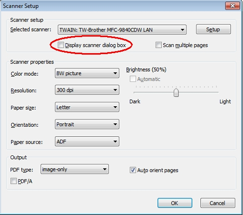 PDF Converter Scanner Setup TWAIN