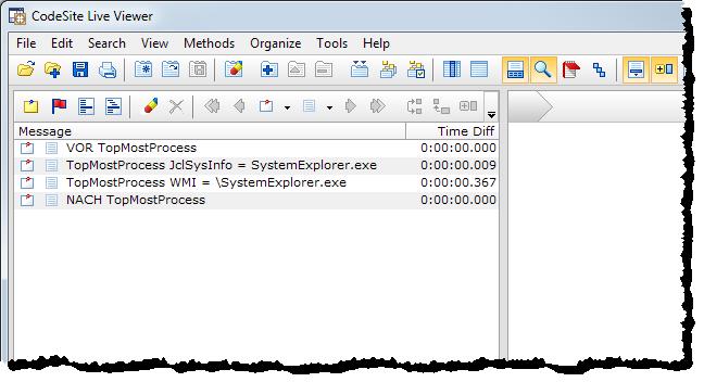 CodeSite log