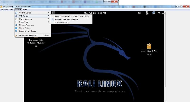 kali devices