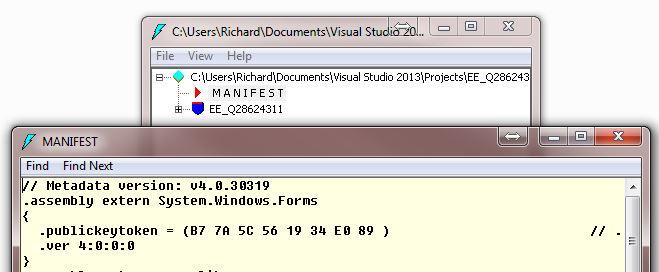 Targeted framework of .NET 4.5 shows references to v4.x