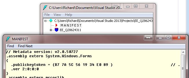 Targeted framework of .NET 3.5 shows references to v2.x