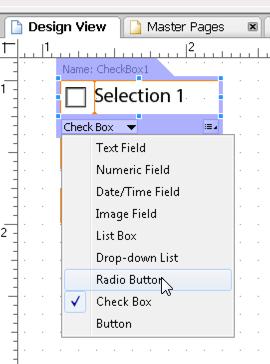Change field type
