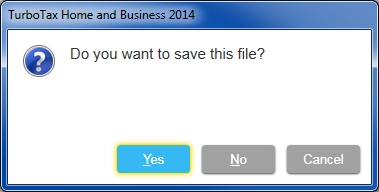 Help Searching Windows Files Turbotax 2014 Missing Files