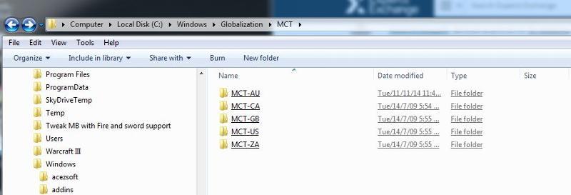 MCT Folder