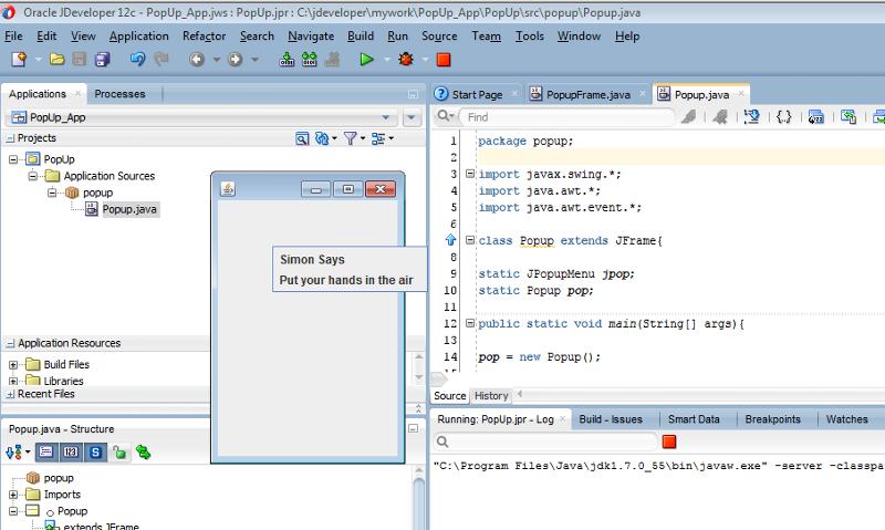 krakatoa's code running on my machine