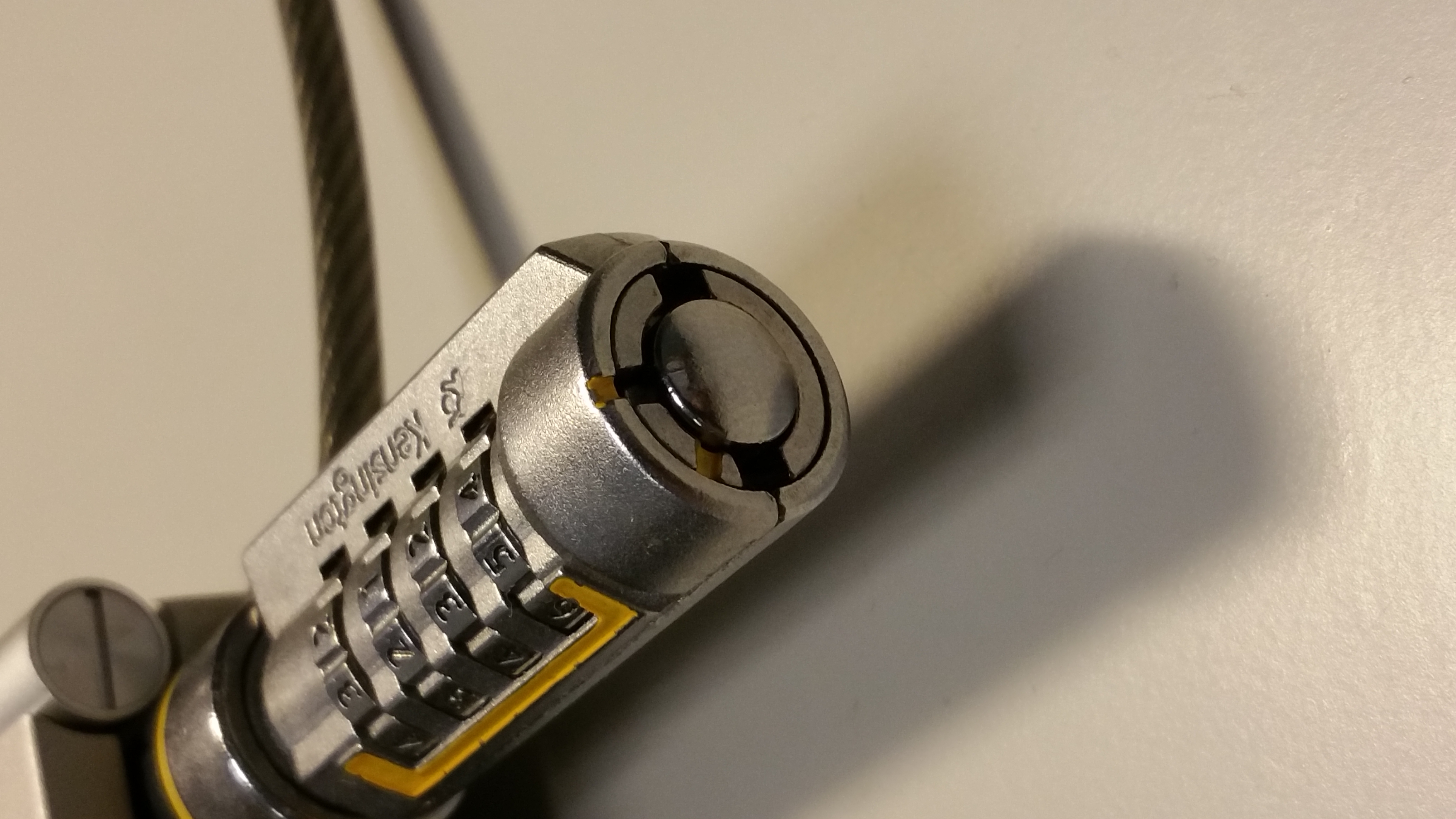 How to pick Kensington laptop lock