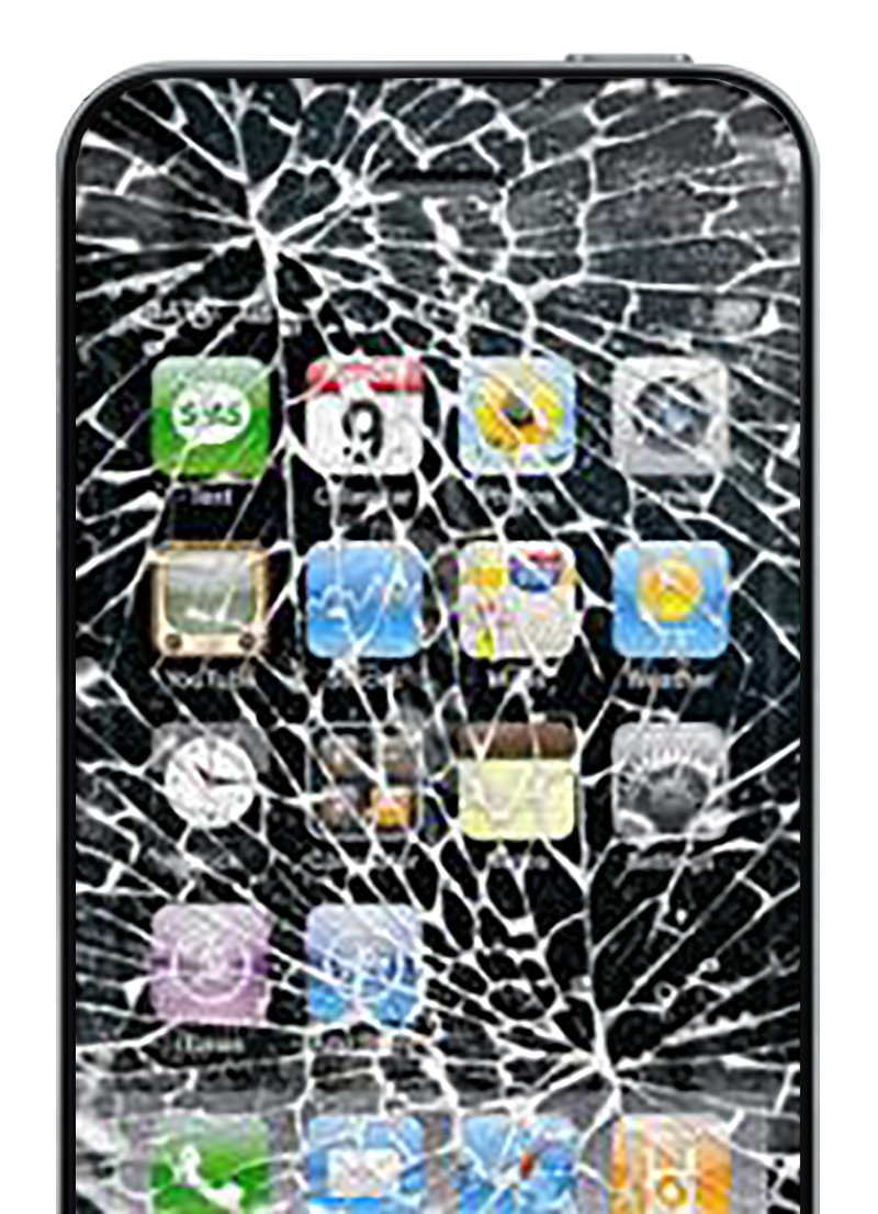 Phone on Transparency