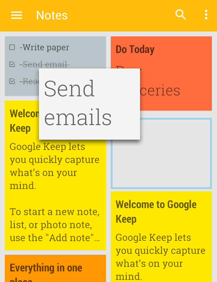 How to Organize your Notes using Google Keep with your