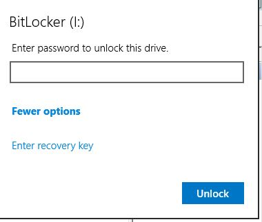 disk I does not allow autounlock