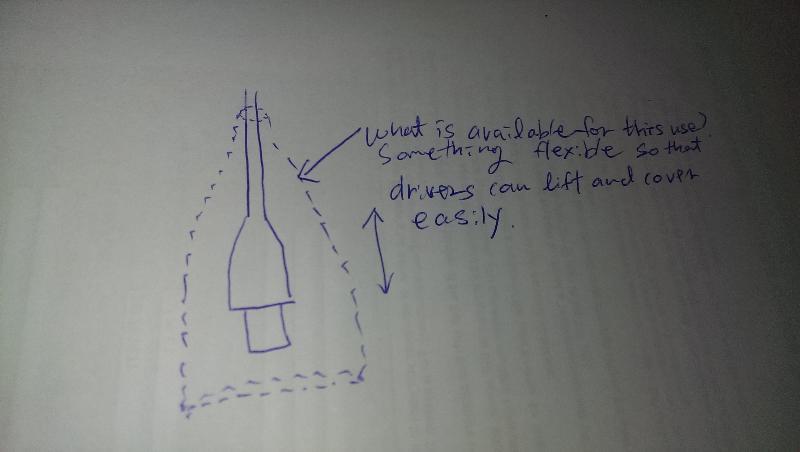 usb rain proof tube