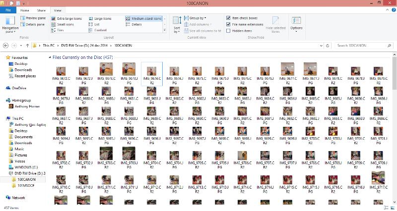 canon folder contents