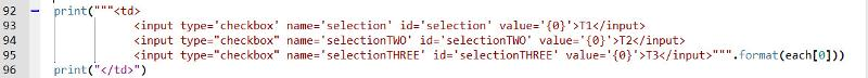 Revised code