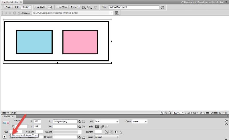 rectangle hotspot