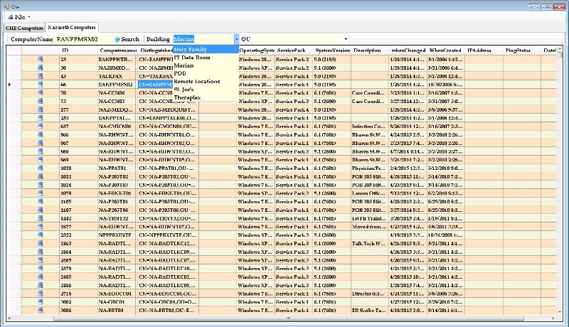 A vb.net datasheet that should load both combo boxes
