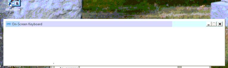 onscreen keyboard