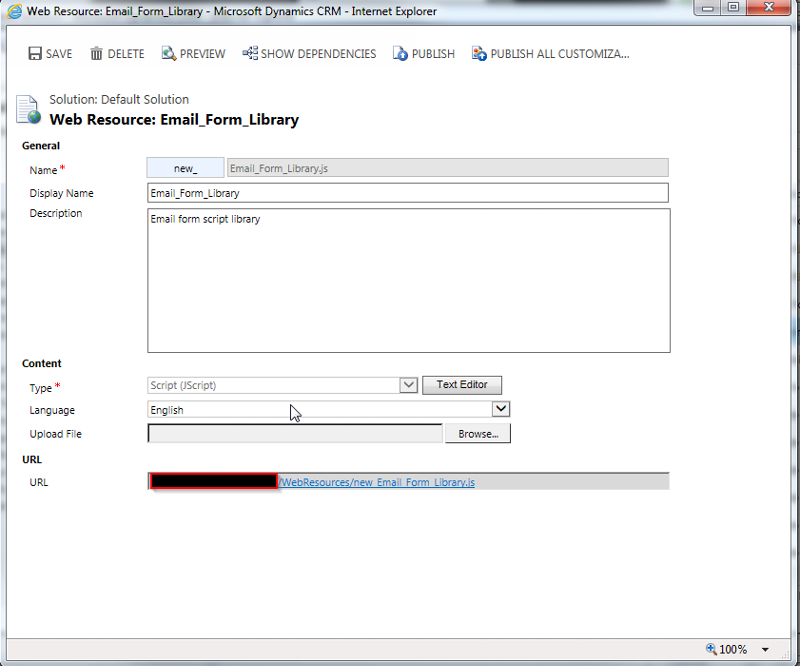 "Picture of Web Resource ""New_Email_Form_Library"""