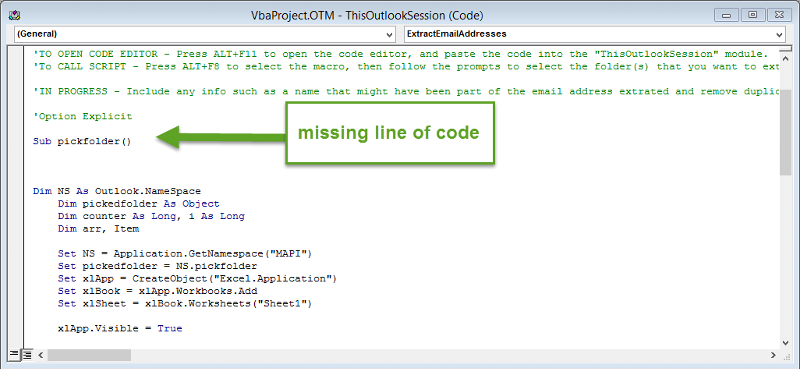 my sorta working code